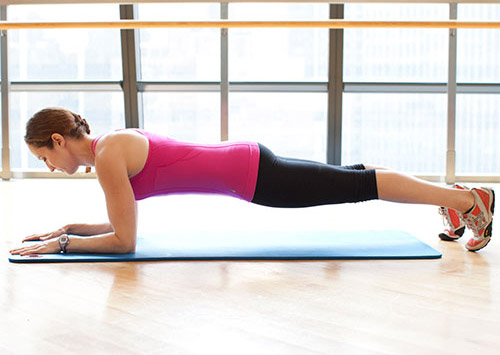 Forearm Plank Yoga Lower Back